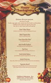 thanksgiving thanksgiving menu template remarkable dinner free