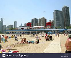 chicago u0027s north avenue beach house boat stock photo royalty free