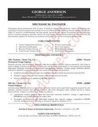 mechanical engineering resume example resume format resume