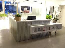 Metal Reception Desk Cgl Interiors