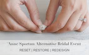 wedding rings redesigned reset restore redesign ring event with sportun peridot