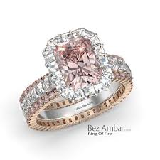 engagement rings pink images Rose gold pink diamond engagement rings pink diamond engagement jpg