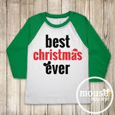 best christmas ever disney kids raglan shirt disney christmas
