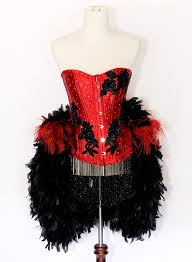 how to diy burlesque showgirl costumes pinterest