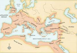Blank Map Of Ancient Rome by Ancient Roman Empire Maps Blank Image Information