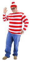 Xxxl Halloween Costume Size U0027s Waldo Costume Candy Apple Costumes