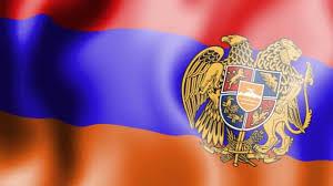 Orange Flag Meaning Armenian Waving Flag Youtube