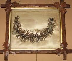 hair wreath a grave interest hair wreaths a mourning custom