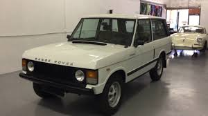 land rover classic for sale 1980 range rover 2 door classic for sale at modern classics youtube