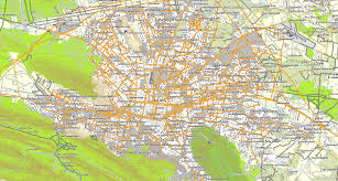 Detailed Map Of Mexico by Large Monterrey Maps For Free Download And Print High Resolution