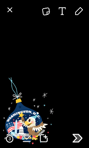washington dc snapchat ornament filter wojdylo social