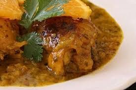 poulet cuisine recette de poulet au jus d orange la recette facile