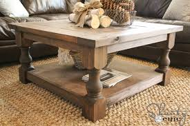 How To Build End Table Plans by Diy Square Coffee Table Shanty 2 Chic