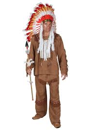 Size Hippie Halloween Costumes Size Deluxe Mens Indian Costume