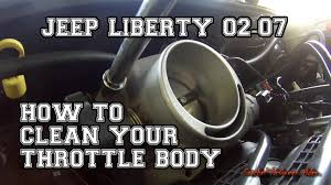 throttle position sensor jeep grand how to clean your throttle jeep liberty 02 07