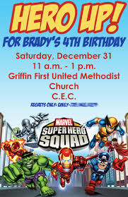 Superhero Invitation Card 13 Best Super Hero Birthday Party Images On Pinterest Birthday