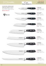 1538 kitchen knives toledo 3 claveles professional knives cook