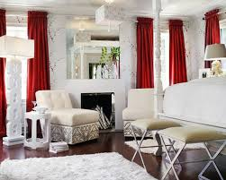 stylish bedroom curtains stylish bedroom with red curtains designs with red curtains houzz
