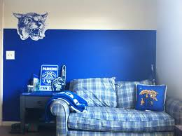 uk of kentucky basketball themed room bedroom decor