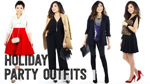 2015 Holiday Christmas Party Outfit Ideas Lookbook  Casual Winter