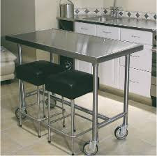 Stainless Steel Prep Table With Drawers Stainless Steel Tables And Cabinets For The Home Kitchen