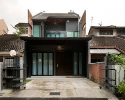 house windows design malaysia affordable exterior design of house with terrace with wooden door