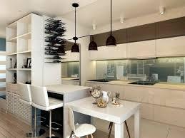 table cuisine bar 73 idées de cuisine moderne avec îlot bar ou table à manger
