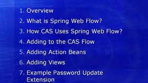 what is spring extending cas using spring web flow on vimeo