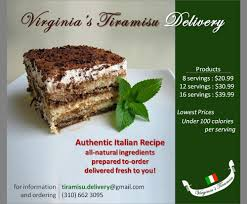 virginia u0027s tiramisu delivery desserts 456 29th st hermosa