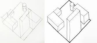 my plan oblique and isometric danielle furniss drawing in plan oblique from another angle