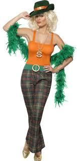 Ladies Halloween Costumes Uk Pimpette Ladies Costume 39976 Fancy Dress Ball