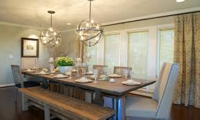 Farmhouse Dining Room Lighting by Dining Table Bench Seat Picnic Dining Room Table Dining Table
