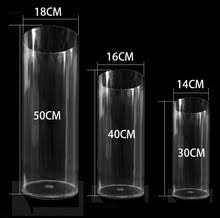 Round Cylinder Vases Compare Prices On Acrylic Vases Wholesale Online Shopping Buy Low