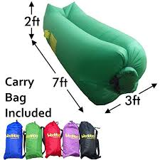 woohoo inflatable lounger air filled balloon furniture with