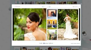 photo album online create a wedding album using the bridebox online software