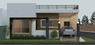 single storey house design where the home has two bedrooms and a