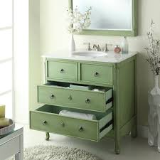 Sale On Bathroom Vanities by Adelina 34 Inch Vintage Bathroom Vanity Vintage Mint Green Finish