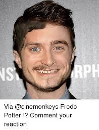 Frodo Meme - via frodo potter comment your reaction meme on me me