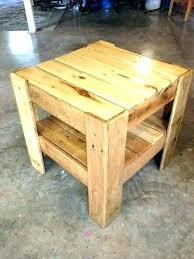 tables made out of pallets pallet bedside table tables made out of pallets bedside or end