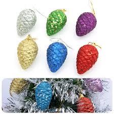 aliexpress buy theme shiny glitter pinecone