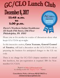 greater philadelphia chapter association of corporate counsel acc