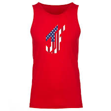 Flag White On Top Red On Bottom Jason Falco Flag Fx Tank Top Red Electronic Gamers U0027 League