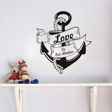 letter s wall decor online get cheap wall decal anchor quote aliexpress com alibaba