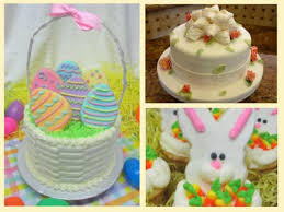 Fondant Easter Cake Decorations by Easter Cakes Http Www Cake Decorating Corner Com