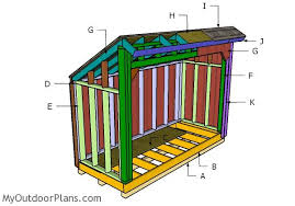 Diy Wood Shed Plans by 4x10 Firewood Shed Plans Myoutdoorplans Free Woodworking Plans