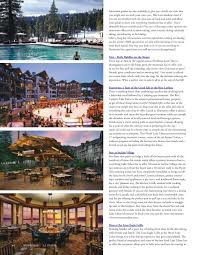 travel articles images La travel magazine lake tahoe article all about incline jpg