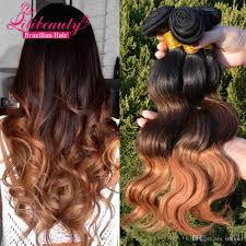 Black To Brown Ombre Hair Extensions by Cheap Lili Hair Products Ombre Hair Extensions 7a Brazilian Virgin