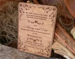 wooden wedding invitations 33 laser cut wood wedding invitations vizio wedding