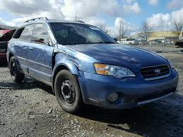 blue subaru outback 2007 salvage car subaru outback 2007 blue for sale in eugene or online