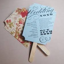 Hand Fan Wedding Programs 10 Best Order Of Service Stationary Inspiration Images On